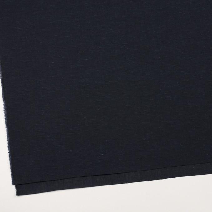 コットン&リネン×無地(ネイビー)×ボイル イメージ2