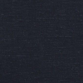 コットン&リネン×無地(ネイビー)×ボイル