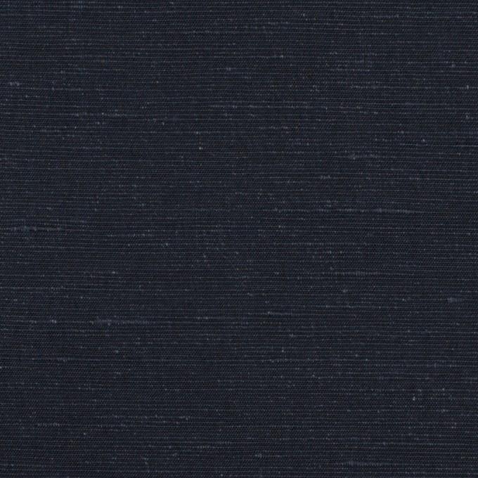 コットン&リネン×無地(ネイビー)×ボイル イメージ1