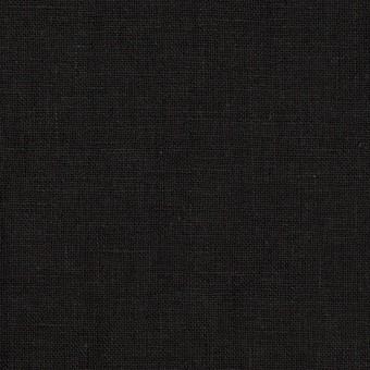 リネン×無地(ブラック)×薄キャンバス