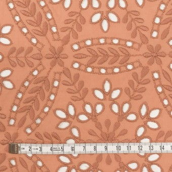 コットン×フラワー(テラコッタ)×ローン刺繍_全2色 サムネイル4