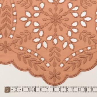コットン×フラワー(テラコッタ)×ローン刺繍_全2色 サムネイル6