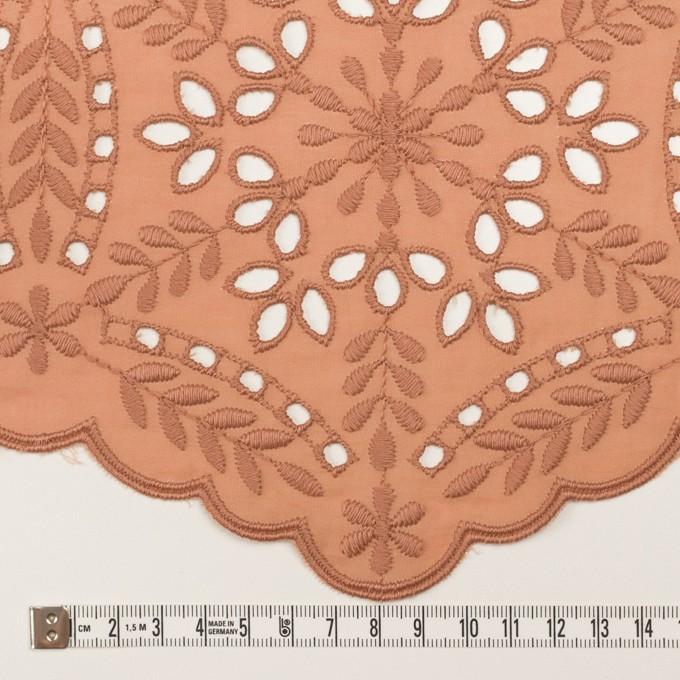 コットン×フラワー(テラコッタ)×ローン刺繍_全2色 イメージ6