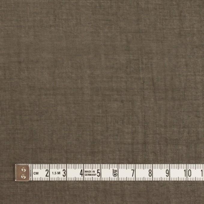コットン×無地(アッシュブラウン)×ガーゼワッシャー_全2色 イメージ4