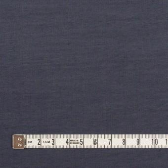 コットン&ポリウレタン×無地(アッシュネイビー)×シャンブレー・ローンストレッチ_全2色 サムネイル4