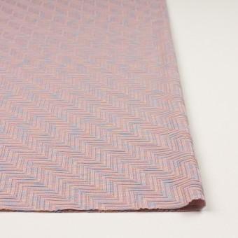 コットン×幾何学模様(ピンクベージュ)×ジャガードニット_全3色 サムネイル3