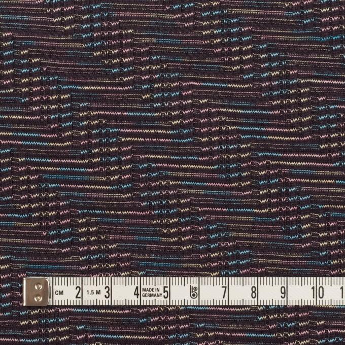 コットン×幾何学模様(チャコール)×ジャガードニット_全3色 イメージ4