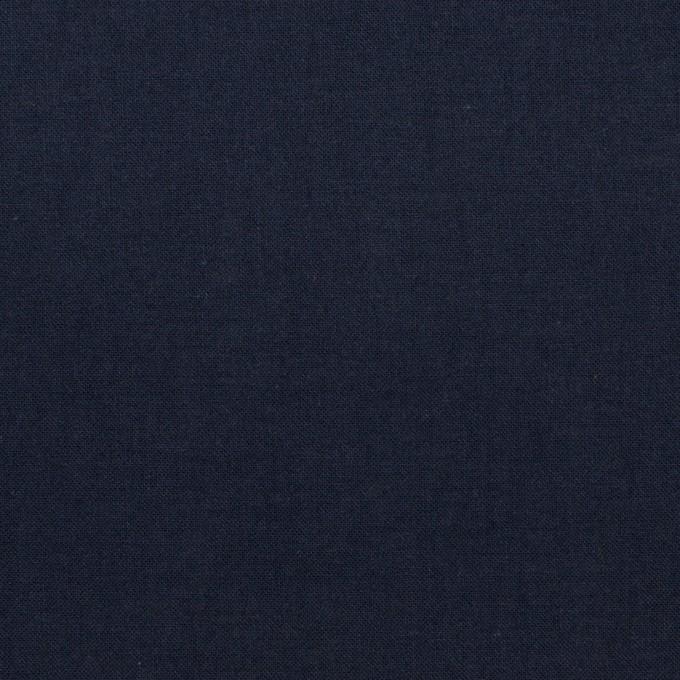 コットン×無地(ネイビー)×ボイル_全2色 イメージ1
