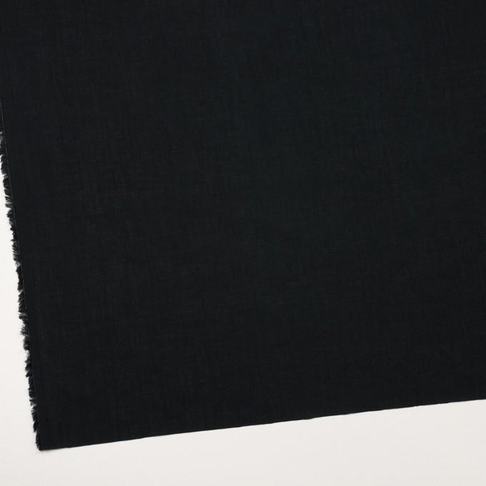 コットン×無地(ブラック)×ボイル_全2色 イメージ2