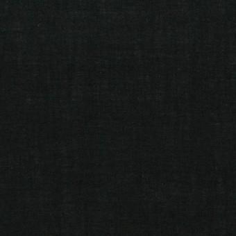 コットン×無地(ブラック)×ボイル_全2色