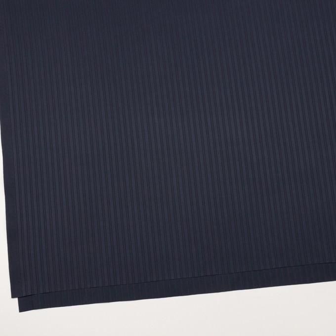 コットン×ストライプ(ネイビー)×サテンジャガード_全2色 イメージ2