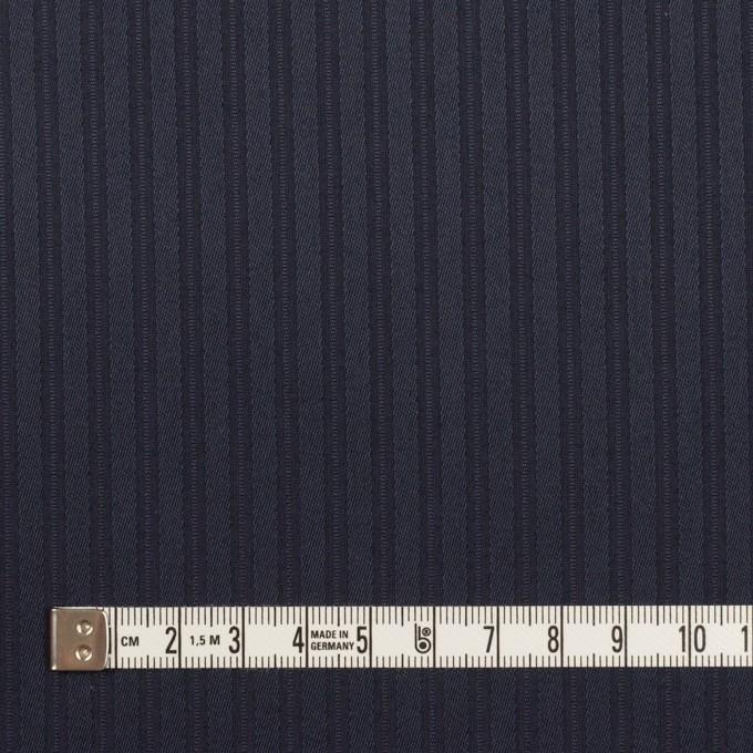 コットン×ストライプ(ネイビー)×サテンジャガード_全2色 イメージ4