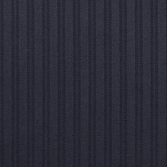 コットン×ストライプ(ネイビー)×サテンジャガード_全2色 サムネイル1