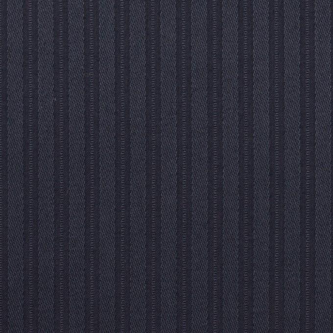 コットン×ストライプ(ネイビー)×サテンジャガード_全2色 イメージ1