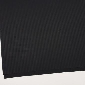 コットン×ストライプ(ブラック)×サテンジャガード_全2色 サムネイル2