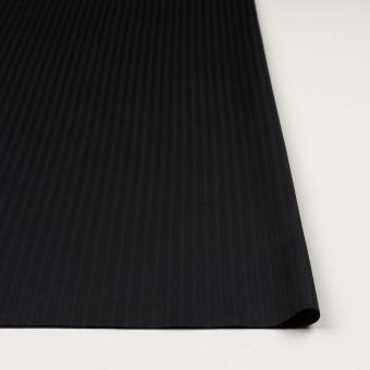 コットン×ストライプ(ブラック)×サテンジャガード_全2色 サムネイル3
