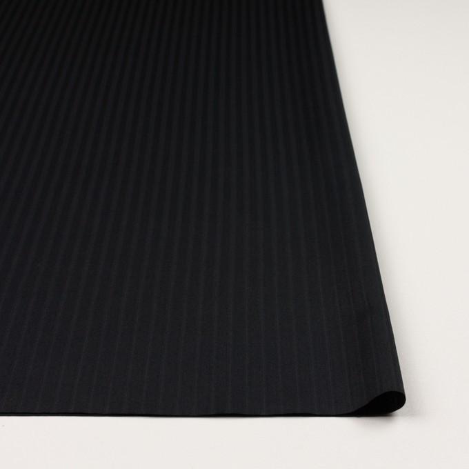 コットン×ストライプ(ブラック)×サテンジャガード_全2色 イメージ3