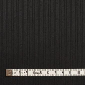 コットン×ストライプ(ブラック)×サテンジャガード_全2色 サムネイル4