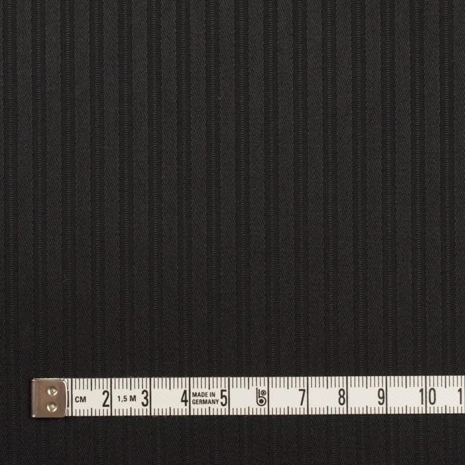 コットン×ストライプ(ブラック)×サテンジャガード_全2色 イメージ4