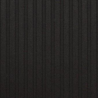 コットン×ストライプ(ブラック)×サテンジャガード_全2色 サムネイル1