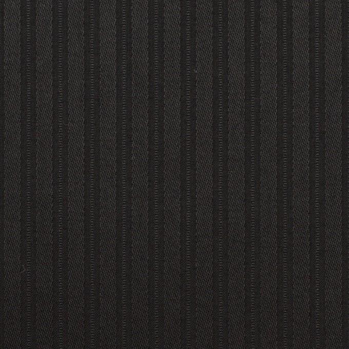 コットン×ストライプ(ブラック)×サテンジャガード_全2色 イメージ1