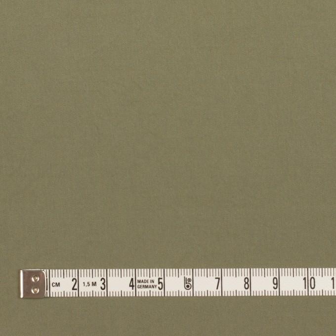 コットン&ポリウレタン×無地(アイビーグリーン)×高密サージ イメージ4