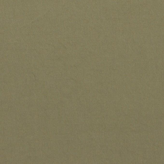 コットン&ポリウレタン×無地(アイビーグリーン)×高密サージ イメージ1