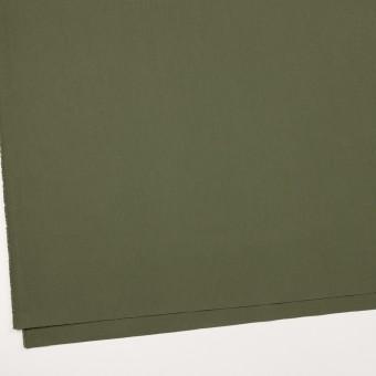 コットン×無地(カーキグリーン)×高密ブロード サムネイル2