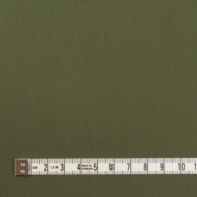 コットン×無地(カーキグリーン)×高密ブロード イメージ4