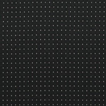 ポリエステル×ドット(チャコールブラック)×ジョーゼット・ドビー サムネイル1