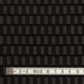 ポリエステル×スクエア(ブラック)×ジョーゼット・ジャガード サムネイル4