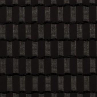 ポリエステル×スクエア(ブラック)×ジョーゼット・ジャガード サムネイル1