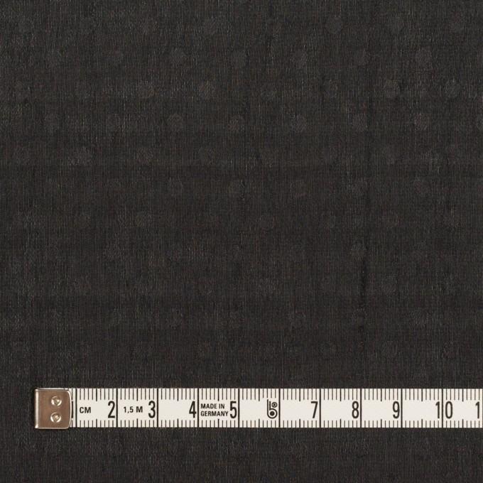 ポリエステル×ドット(ブラック)×シフォンジョーゼット イメージ4