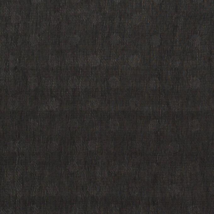 ポリエステル×ドット(ブラック)×シフォンジョーゼット イメージ1