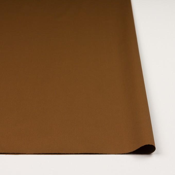 コットン&ポリウレタン×無地(アーモンド)×高密サージストレッチ イメージ3