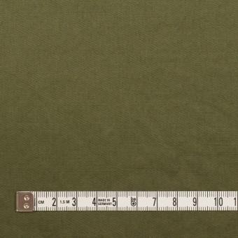 コットン&ラミー×無地(カーキグリーン)×サージワッシャー_全3色 サムネイル4