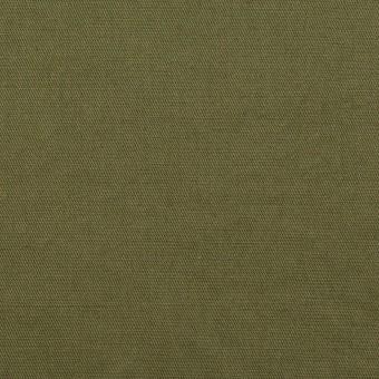 コットン&ラミー×無地(カーキグリーン)×サージワッシャー_全3色 サムネイル1