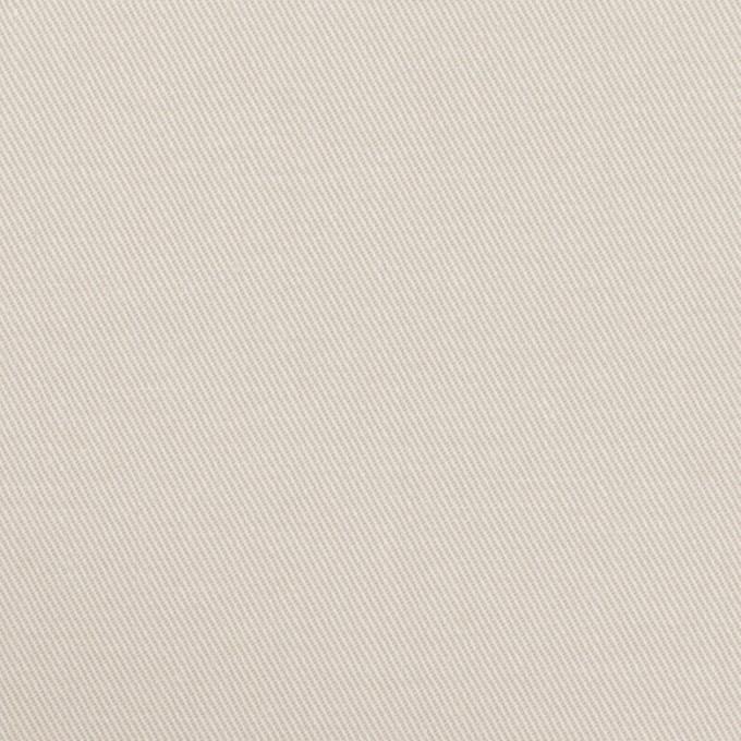 コットン&ポリウレタン×無地(アイボリー)×チノクロス・ストレッチ イメージ1