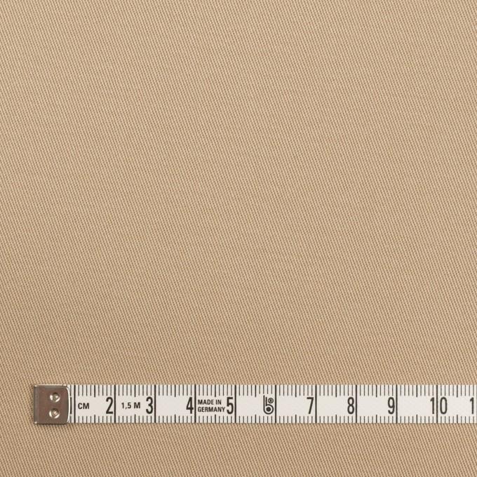 コットン&ポリウレタン×無地(ベージュ)×チノクロス・ストレッチ イメージ4