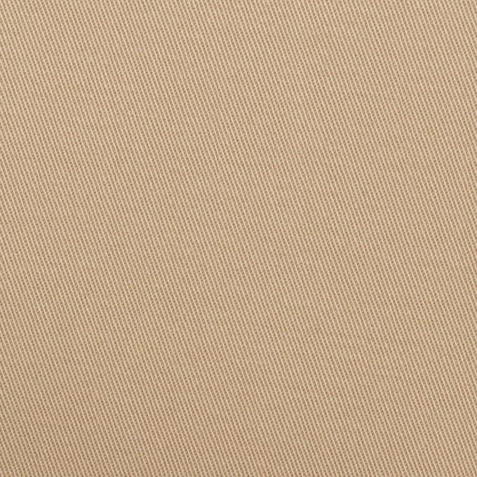 コットン&ポリウレタン×無地(ベージュ)×チノクロス・ストレッチ イメージ1