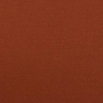 コットン&ポリウレタン×無地(レンガ)×チノクロス・ストレッチ_全2色