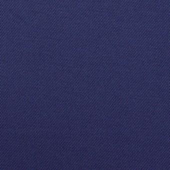 コットン&ポリウレタン×無地(マリンブルー)×チノクロス・ストレッチ_全2色