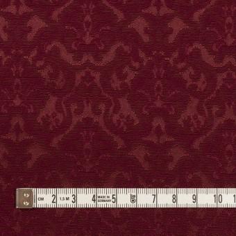 コットン&ポリエステル×幾何学模様(バーガンディー)×ジャガード_全2色 サムネイル4