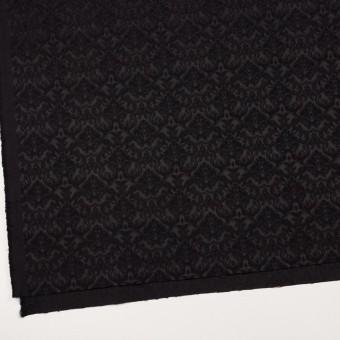 コットン&ポリエステル×幾何学模様(ブラック)×ジャガード_全2色 サムネイル2