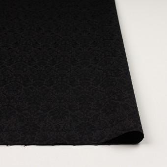 コットン&ポリエステル×幾何学模様(ブラック)×ジャガード_全2色 サムネイル3