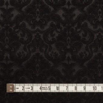 コットン&ポリエステル×幾何学模様(ブラック)×ジャガード_全2色 サムネイル4