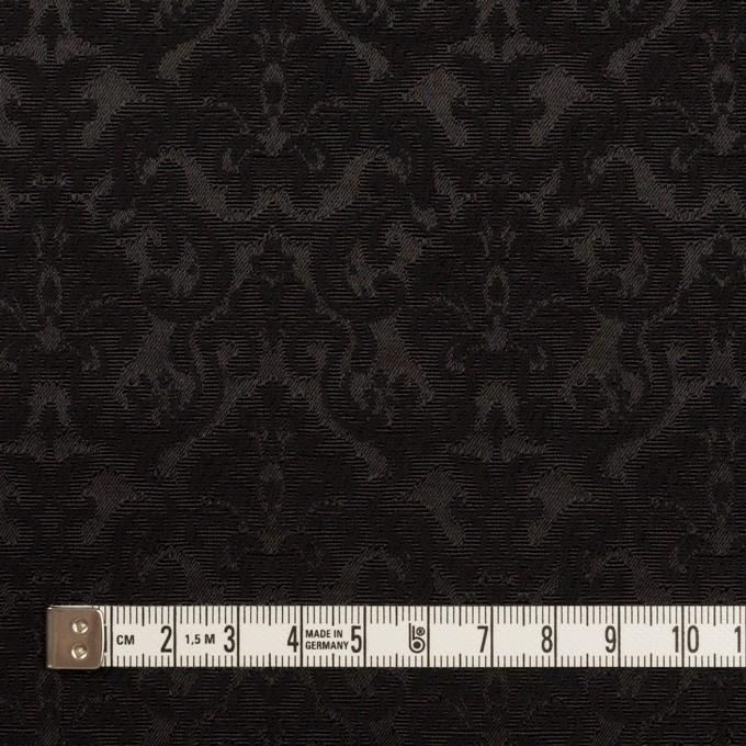 コットン&ポリエステル×幾何学模様(ブラック)×ジャガード_全2色 イメージ4
