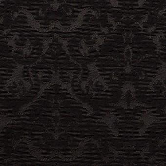 コットン&ポリエステル×幾何学模様(ブラック)×ジャガード_全2色 サムネイル1