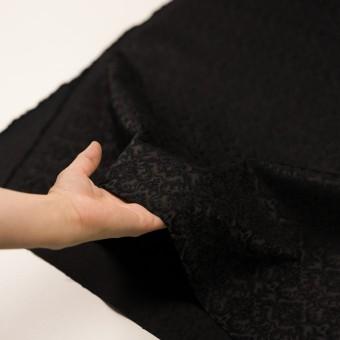 コットン&ポリエステル×幾何学模様(ブラック)×ジャガード_全2色 サムネイル5