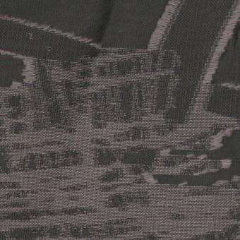 コットン&ポリエステル混×幾何学模様(スチール)×ジャガード・シャーリング サムネイル1
